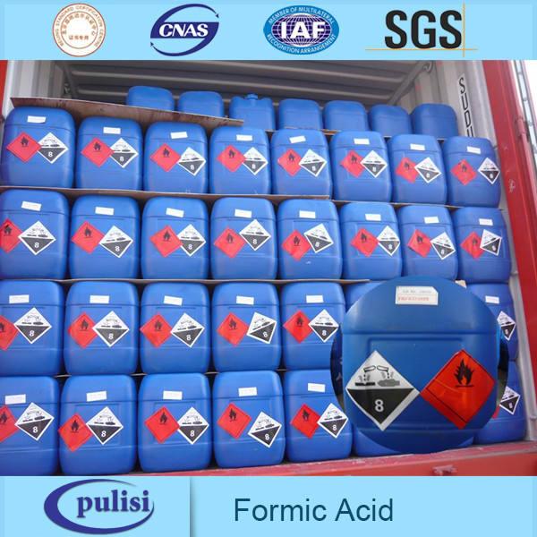 Venda quente fabricante professinal 10 anos cas 64-18-6 de ácido fórmico 85%