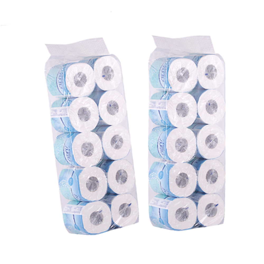 100% Virgin Bamboe Pulp Toiletpapier Bad Weefsel Coreless Toiletpapier Tissue