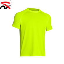 Custom Printing 200g 100% Polyester Quickly Dry T Shirt For Sport Or Promotion