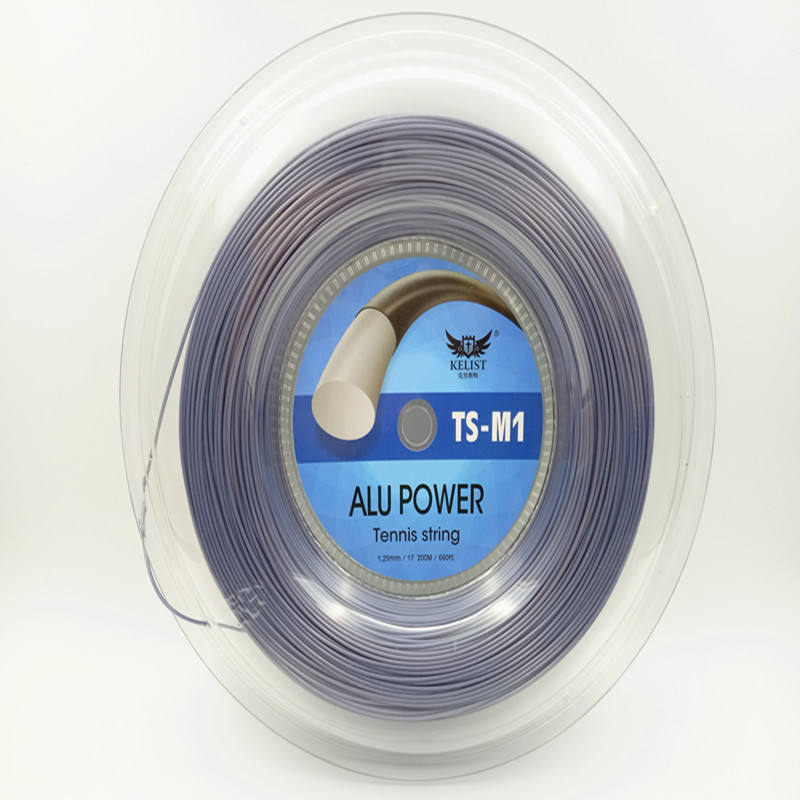Quality same as the famous brand big banger alu power tennis string reels, can accept OEM LOGO