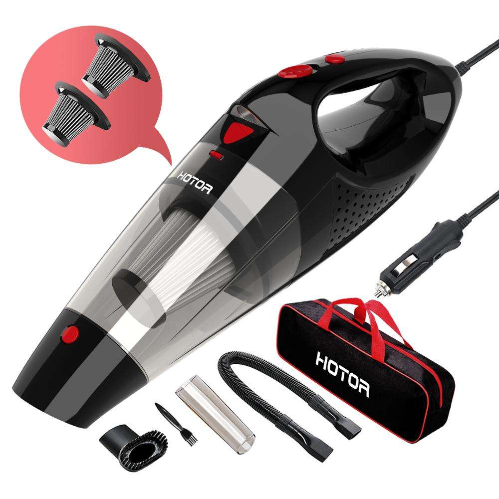 Mini Portable Handheld car vacuum cleaner with led light 12v In Strong