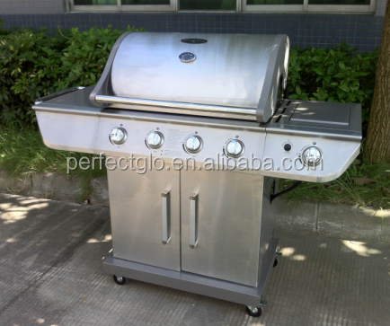 Csa Goedkeuring Infrarood 4 Brander Barbecue Grill Rvs (PG-40402S0L)