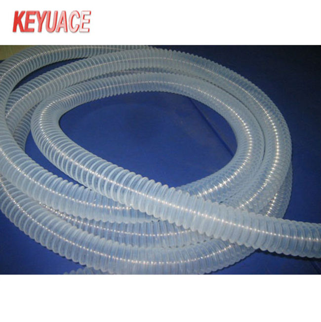 Customized High Temperature and High Pressure Resistant PTFE Corrugated Hose for Aviation Industry