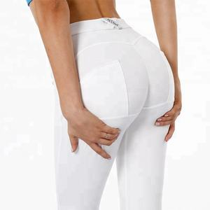 Reale lupo bianco yoga pantaloni di compressione ghette di yoga push up leggings di fitness per le donne