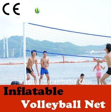 Beach-Volley Ensemble (filet de Volleyball gonflable post)