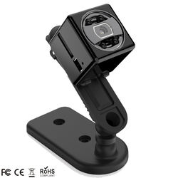 World smallest motorcycle helmet mini action camera with motion detection