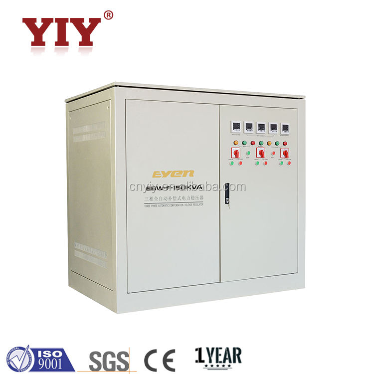 SBW-F 150KVA Three Phase Industrial Automatic Factory Power Voltage Regulator AC Servo Voltage Stabilizer