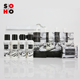 yangzhou hotel amenities 30ml luxury bottles plastic bath set