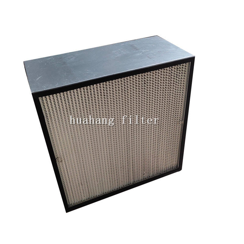 Mini pleated H13 / H14 HEPA Filter,ventilation system hepa filter