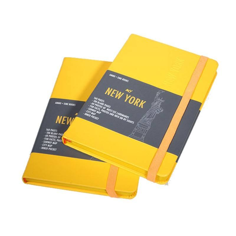 Wholesale custom high quality leather planner journal book notebook printing service