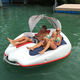 two people leisure boat on water floating electric boat for sale