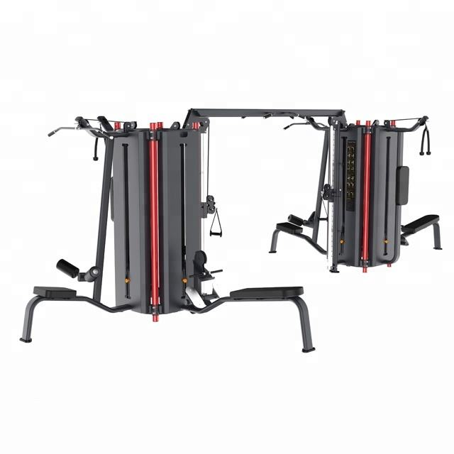 J30058 rocson fitness gym equipment plusx fitness multi station 10 station