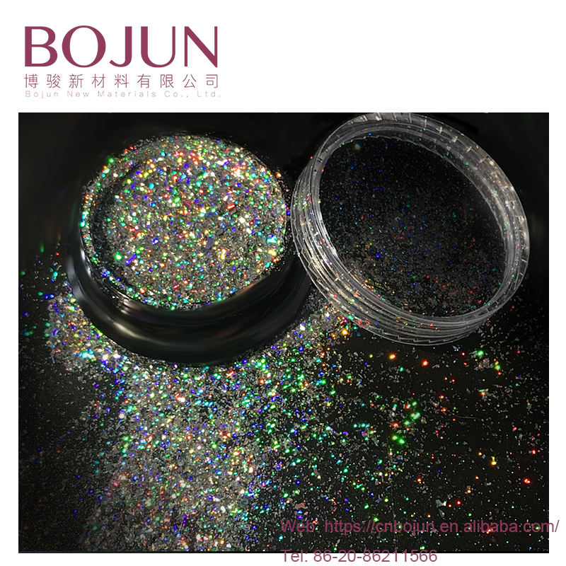 chameleon changing effect glitter pearl color pigment holographic mica powder cosmetic