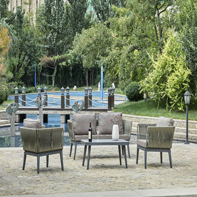 Perfekte oval entwickelt luxus hotel <span class=keywords><strong>outdoor</strong></span> freizeit möbel kunststoff rattan lounge suite sofa set