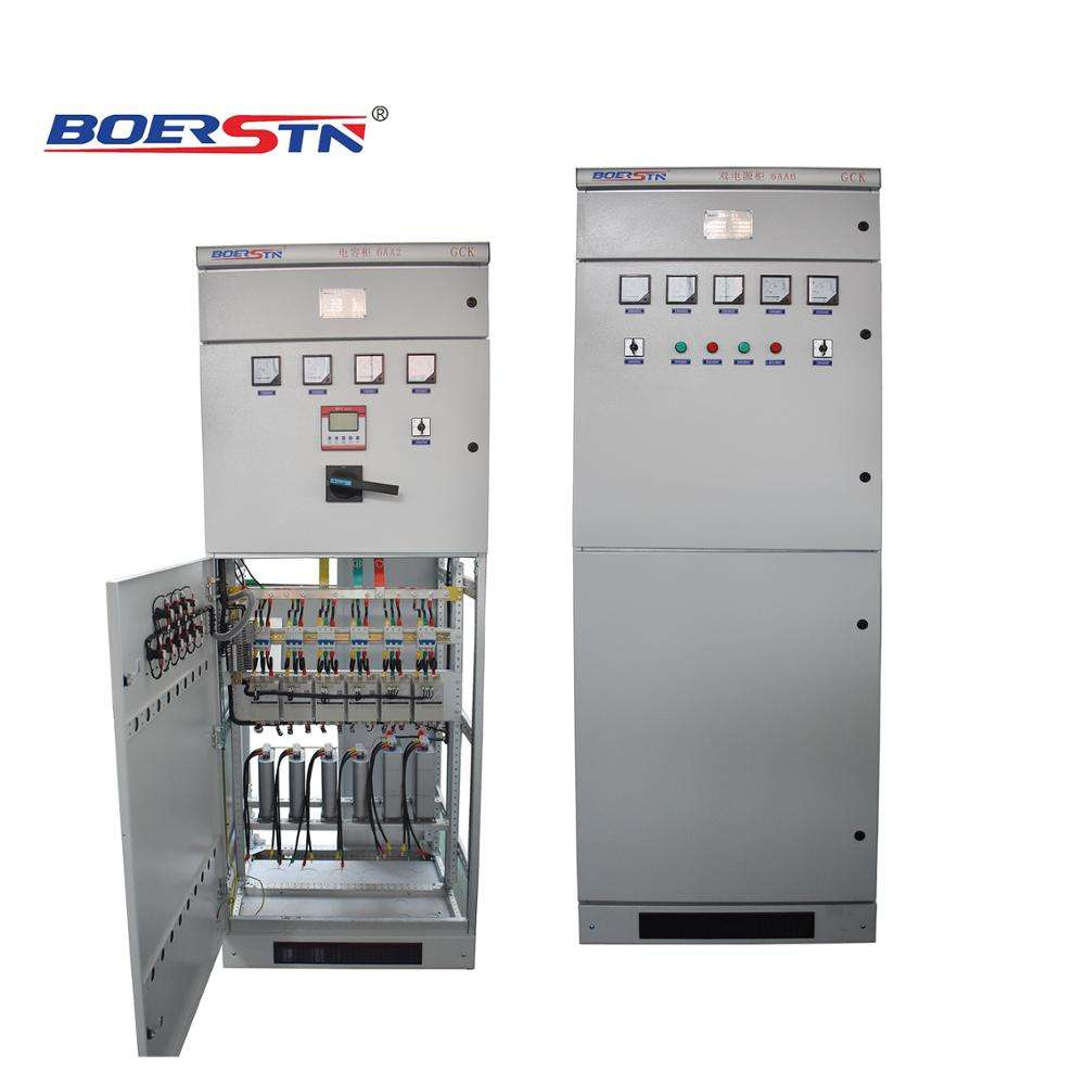 Boerstn Factory Price 315 KVAR 450KVAR Electrical Power Capacitor Banks Power Factor Capacitor Panel