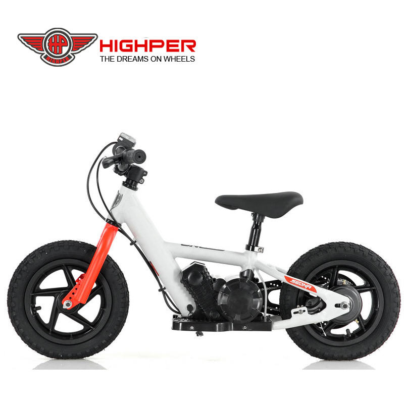 80W 24V kids no pedal bicycle aluminum frame electric balance motor bike