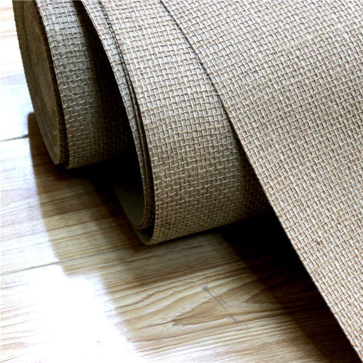 Classic wallpaper manufacturer natural woven grass cloth hemp wallpaper for hot sale