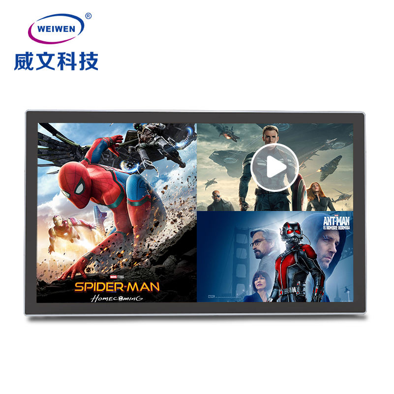 55 inch indoor Wall mounted android network wifi lcd digital advertising player for smart restaurant media player