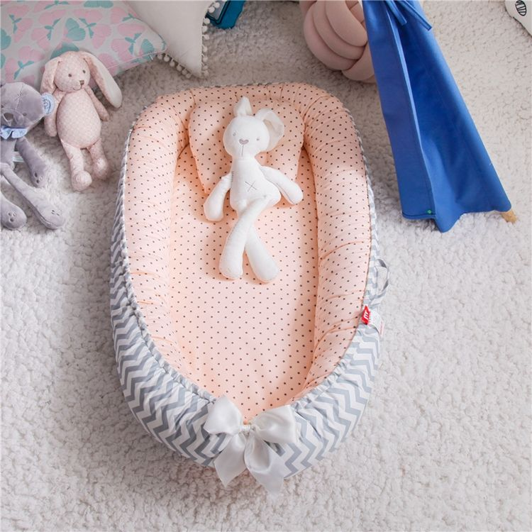 OEM&ODM 100% Cotton Pod Sleep Cribs Baby Portable Bed