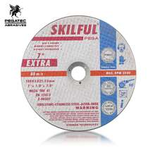 "SKILFUL 7"" 180x3x22mm resin SS cutting disc for inox"