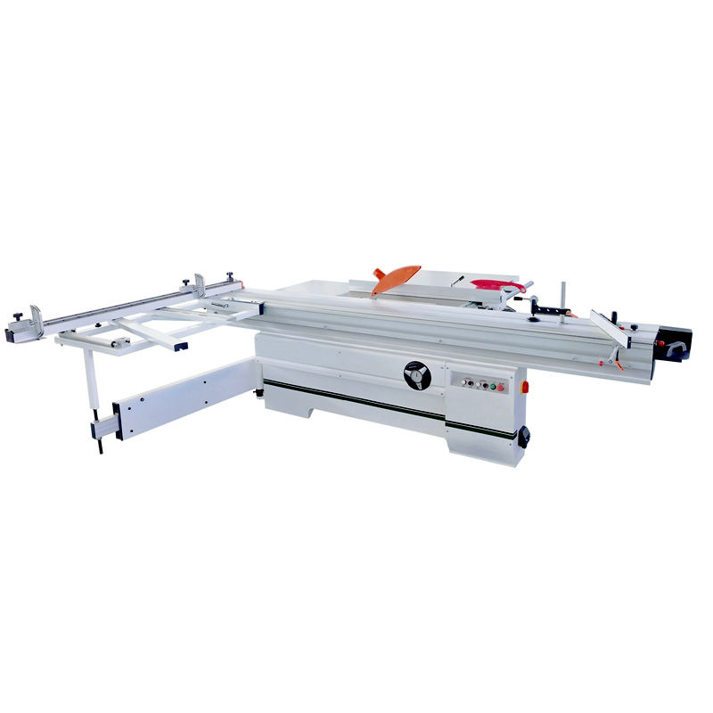 HICAS Industrial Precision 3200mm Wood Cutting Sliding Table Panel Saw Machine For Woodworking