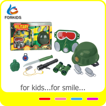 Plastic combat force toy play set,kid's soldier force role play toys set,military force toy play set