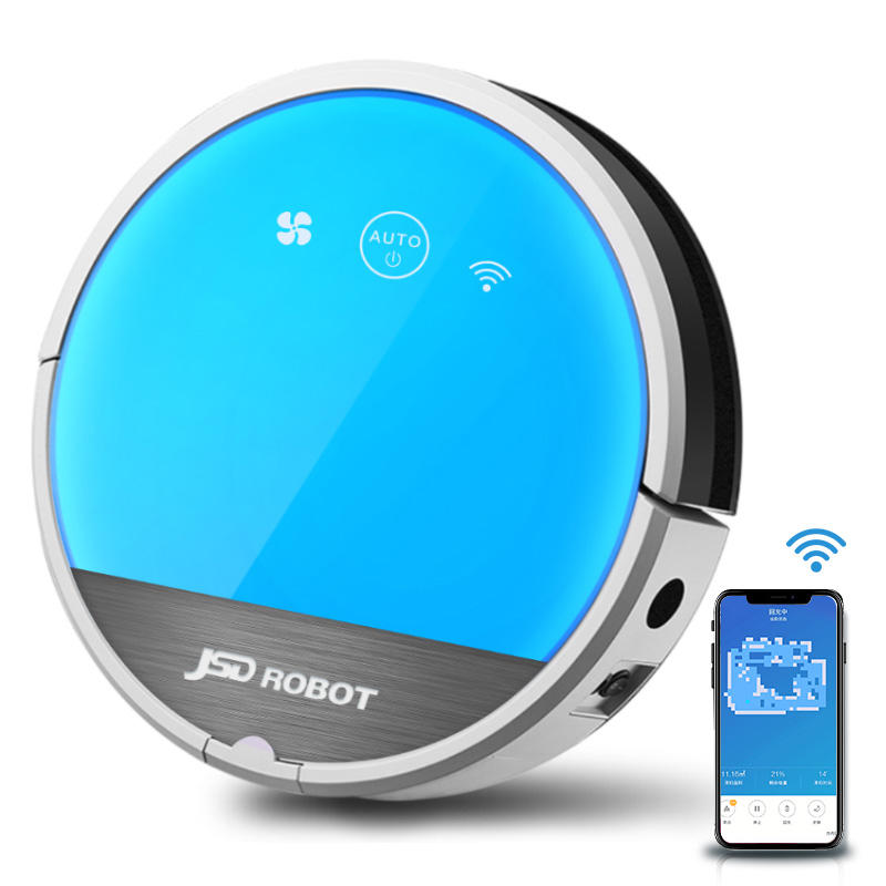 Automatical Household Sweeping Mopping WiFi APP Robotic Wet Dry Home Aspirateur Robot Vacuum Cleaner
