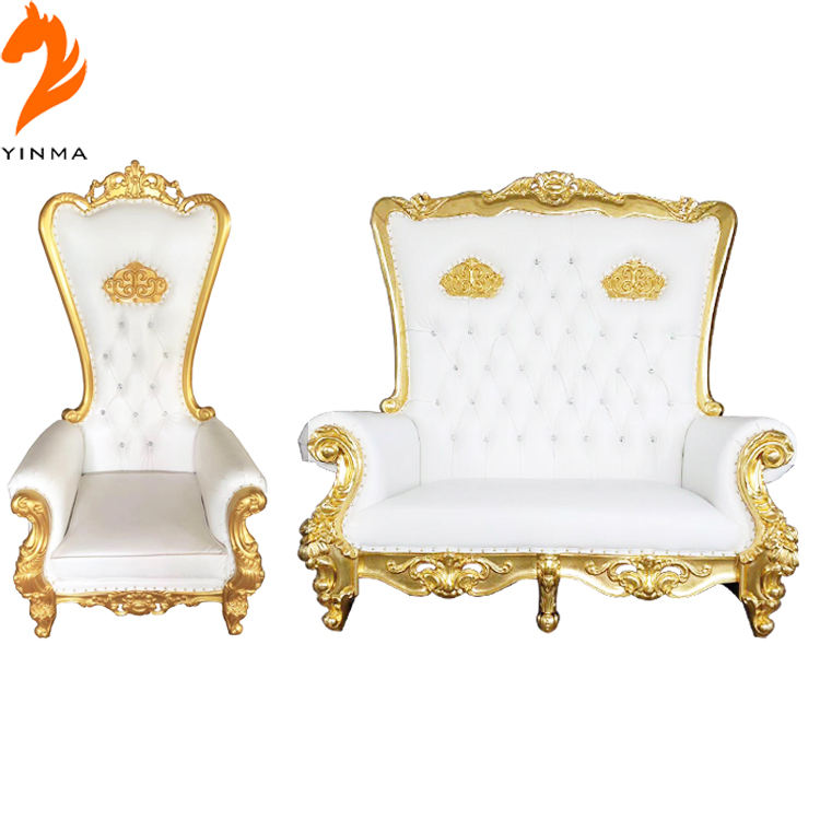 Hot Sale cheap king throne chair throne chairs for wedding party