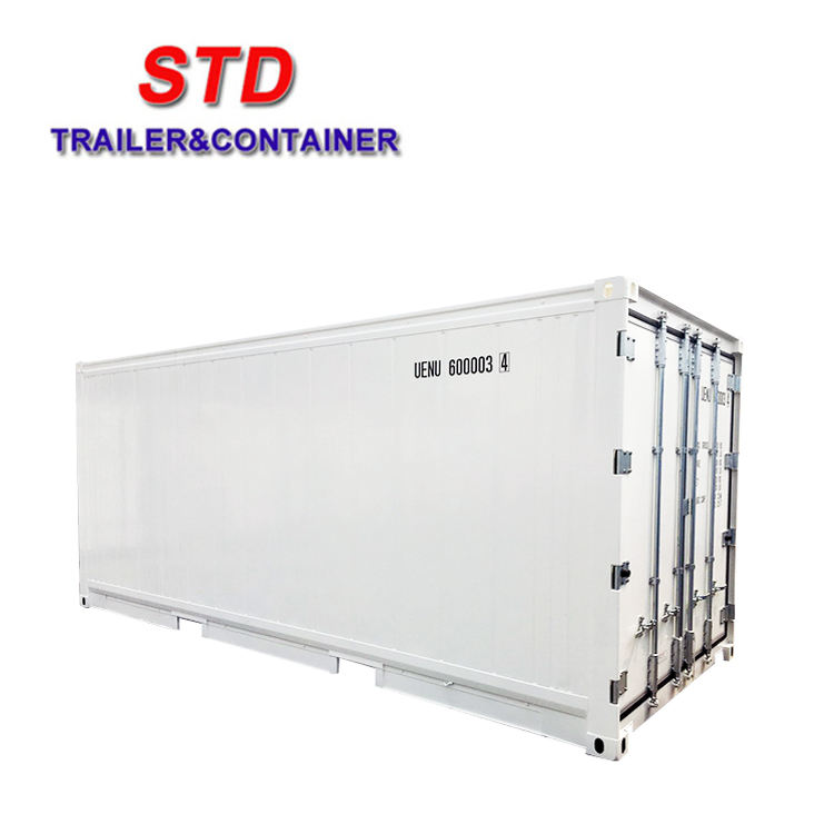 20 ft insulated reefer shipping container without cooling machine