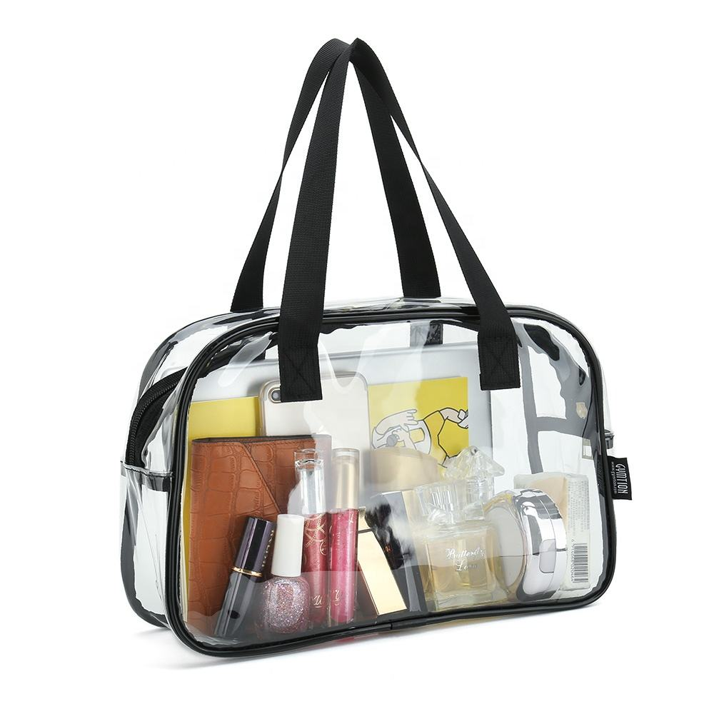 cosmetic clear pvc cosmetic bag Firm and easy to clean makeup bag