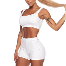 Fashion Sports Suits Sexy Fitness Yoga Wear Sets Running Suits Women Gym Sports Bra and Shorts Set