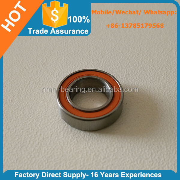 SMR688C-2OS ABEC-7 Dry Stainless Steel Hybrid Ceramic Sealed Ball Bearing 8x16x5