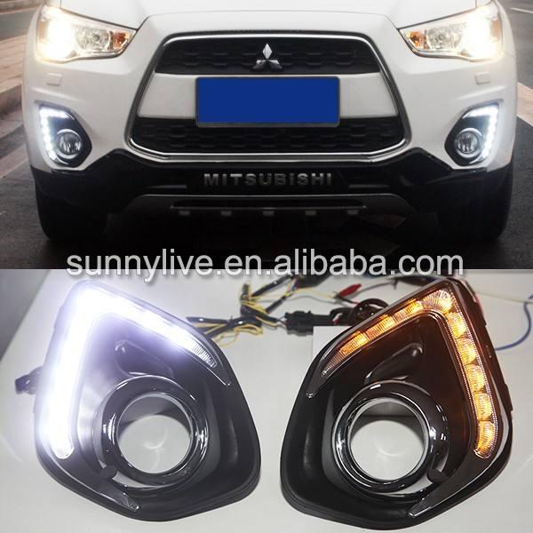 Daytime Running Light LED DRL For Mitsubishi Outlander Sport ASX 2013 2014 2015