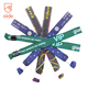 AIDE Promotional Fastener Satin Clip Biodegradable Ribbon Fabric Textile Woven Wristbands For Music Festival Events