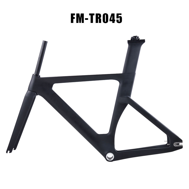 2018 Vollcarbon Track Tracing Road Racing Carbon T800 Fixed Gear Fahrrad Frameset OEM