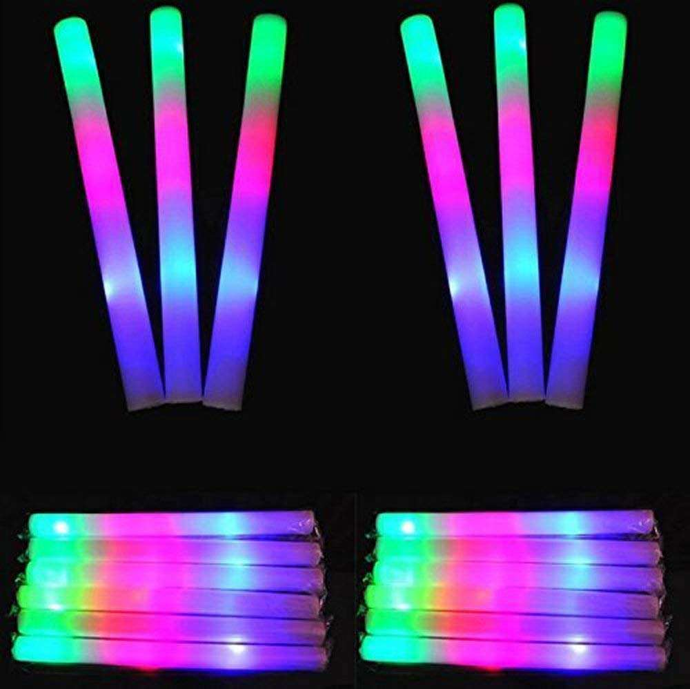 PE LED inflatable Cheering sticks foam led cheer stick