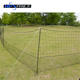 Electric fence 50m length black color poultry netting