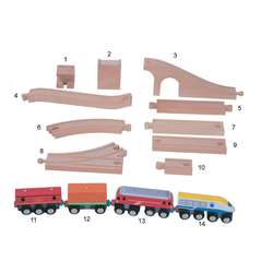 wooden railway sleepers wholesale custom available cheap safe non toxic eco friendly natural wood kids children toys pretend