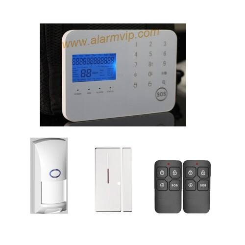 Wireless/wired gsm thuis inbraakalarm systemen PSTN alarm security