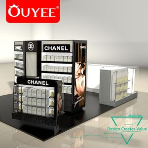 Retail Store Makeup Cosmetic Display Cabinet Cosmetic Showcase Furniture
