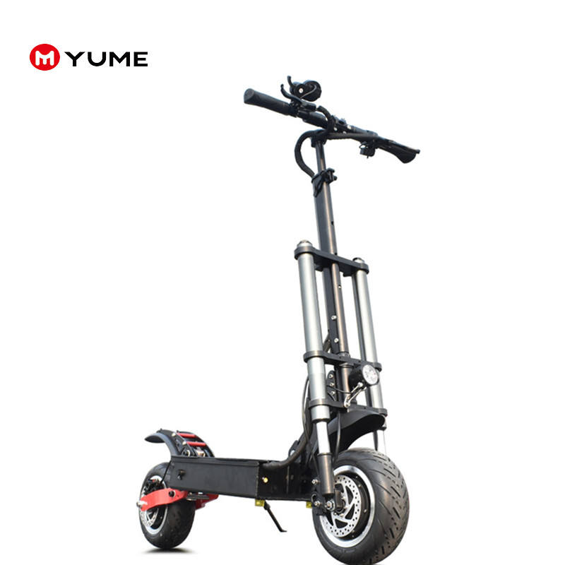Yume 60v 3200w 1600 watt electric scooter double motor with removable seat fat e scooter with 30ah battery