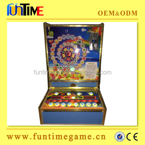 Afrika Populaire Tafel Top Slot Game Machine/Coin Operated Tafel Top Gokken Machine