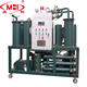 Black car engine oil regeneration plant lubricants oil recycle machine