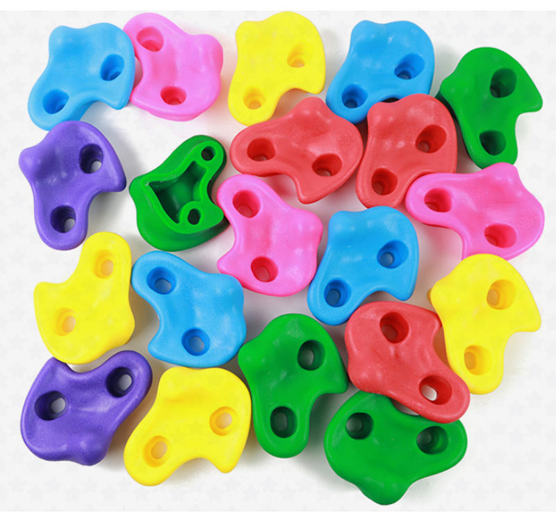 High Quality Wholesale 20PC For one Carton Adults and children outdoor and inside rock climbing wall climbing holds