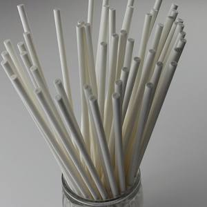 Food grade white or customized colour paper lollipop stick