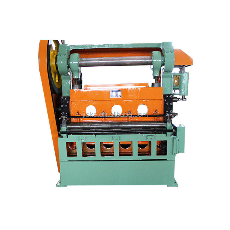 expanded metal mesh machine/ aluminium steel plate expand mesh making machine