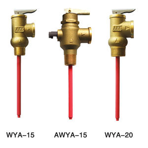 Temperature and Pressure Relief Valve for Solar Water Heater
