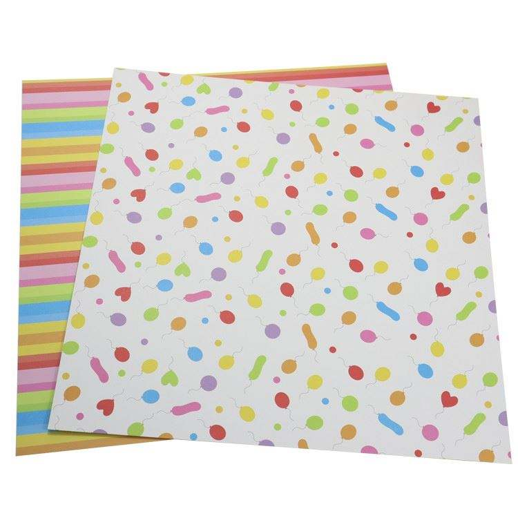 Card stock paper 12x12 scrapbooking paper pack