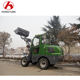 Mini telescopic forklift loader extend New Design Mini Wheel Loader