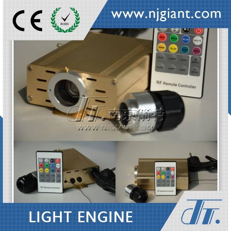 Iluminador de fibra <span class=keywords><strong>óptica</strong></span> motor de luz led 16 w teto estrelado